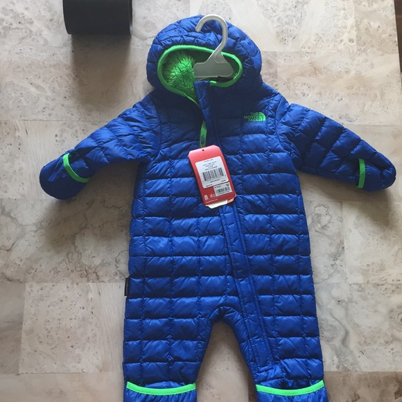 eb7fd7379 New North Face infant thermoball bunting snow suit NWT